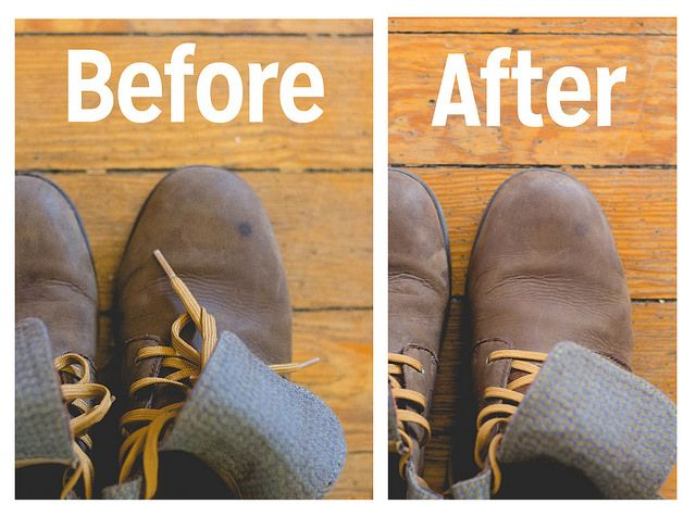 Removing Food Grease From Leather Boots