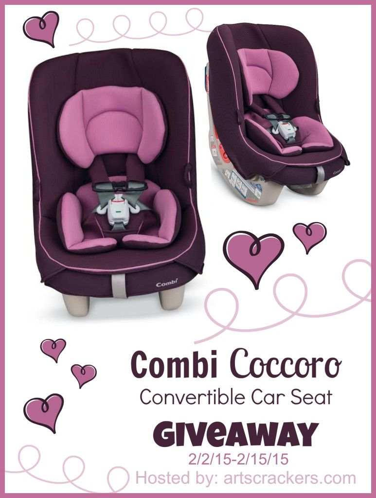 Combi Coccoro Convertible Car Seat Giveaway Enter To Win