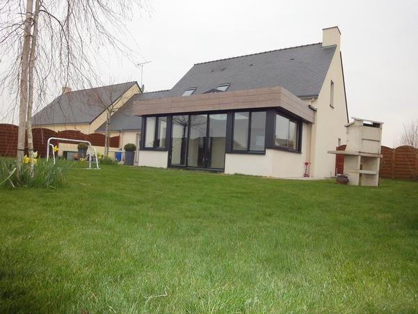 agrandissement maison toit plat mp pilgean Agrandissement Pinterest