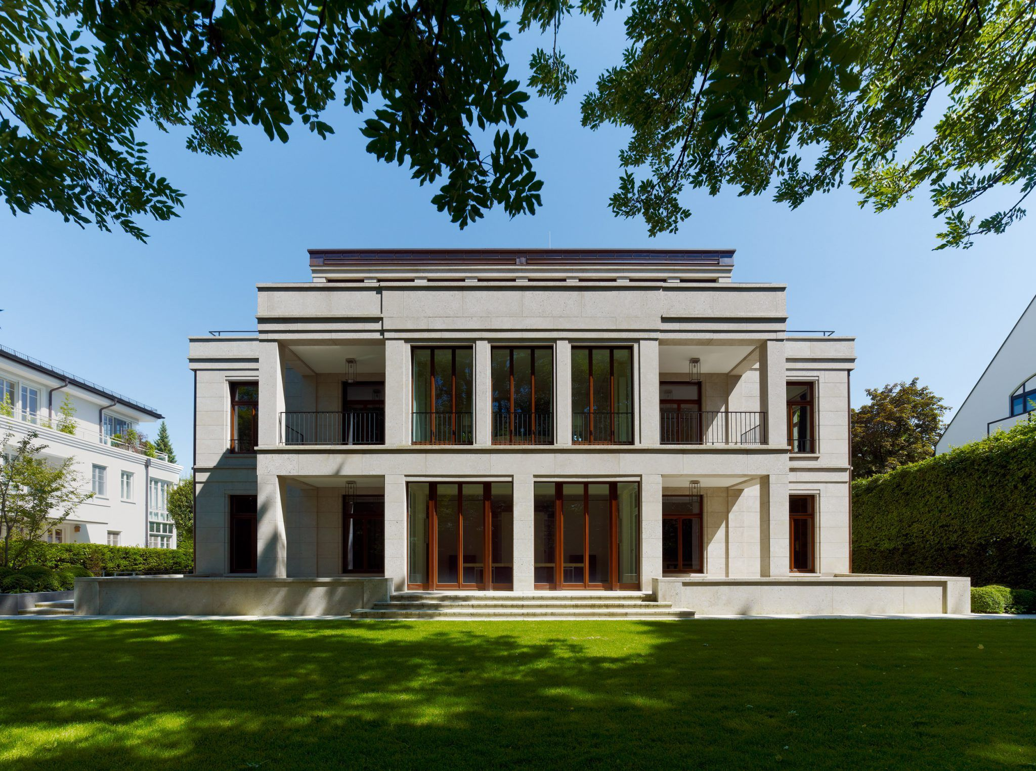 Haus r kahlfeldt architekten postmodern pinterest for Minimalistisches haus grundriss