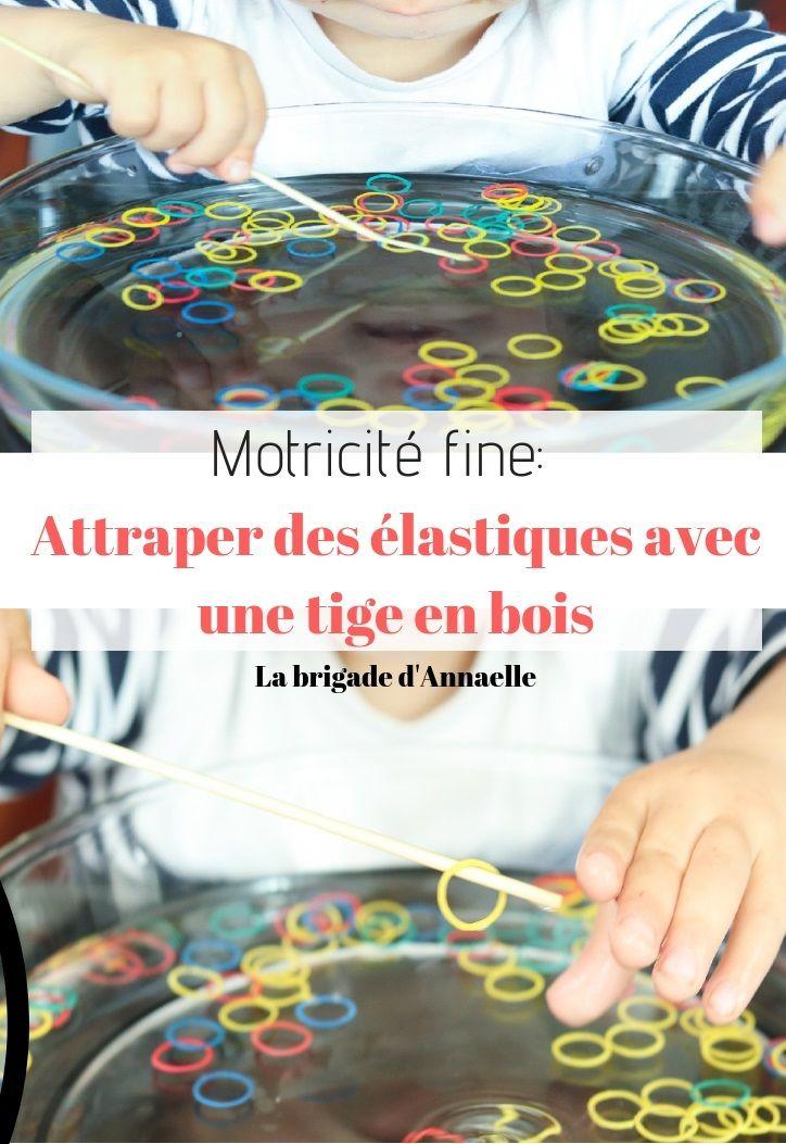 Motricité fine avec des élastiques | Motricité, Motricité fine et Motricité fine maternelle