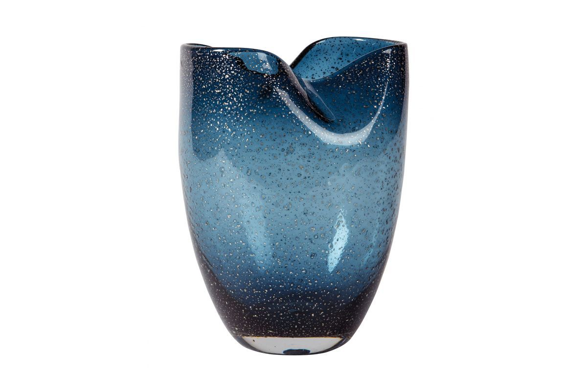 didrika vase in blue by ashley from gardner white furniture