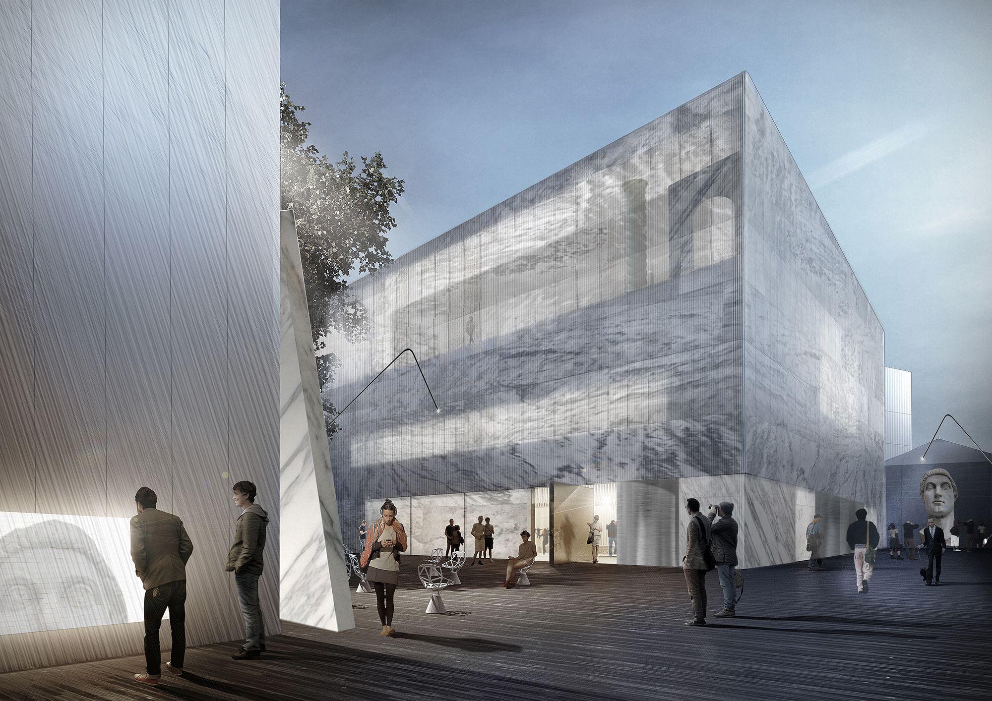 Escritório Project Meganom vence concurso para a remodelação do Pushkin Museum em Moscou