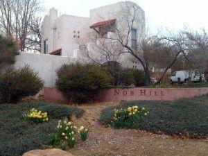 Nob Hill Sign