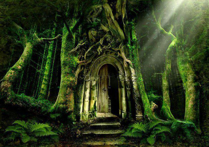 fairy doors gardens fantasy art Fantasy Art » www