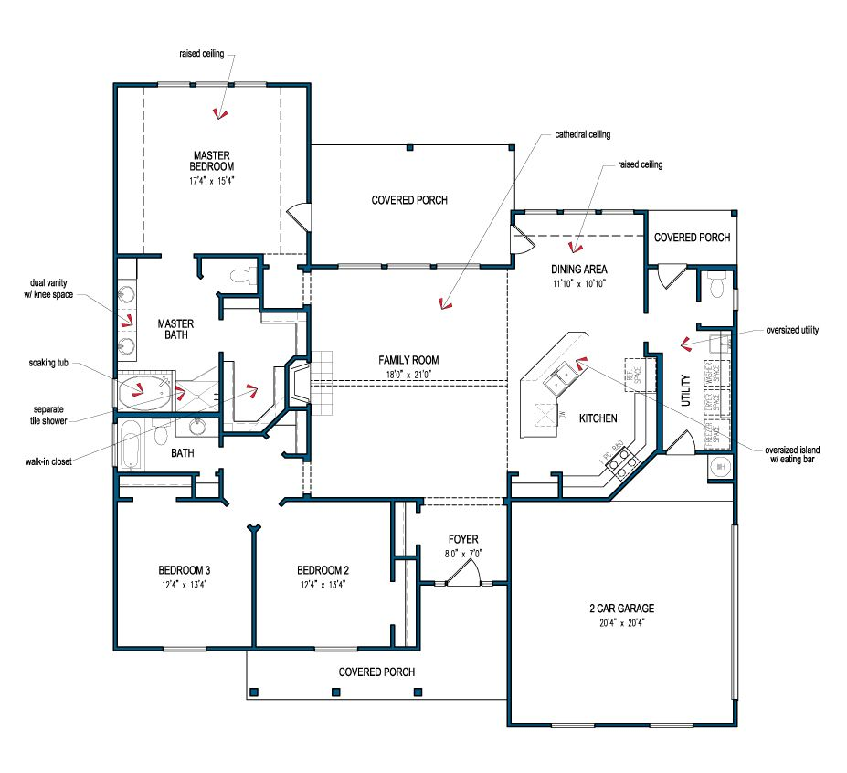 Country 2003 Floor Plans House Plans How To Plan