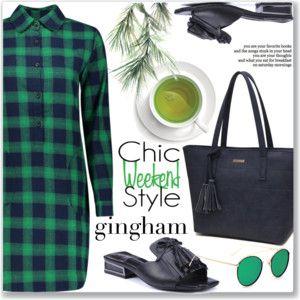 Gingham Dress :: Work Wear