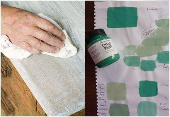 Pintura de tiza: muebles pintados sin lijar ni imprimar - Informes ...