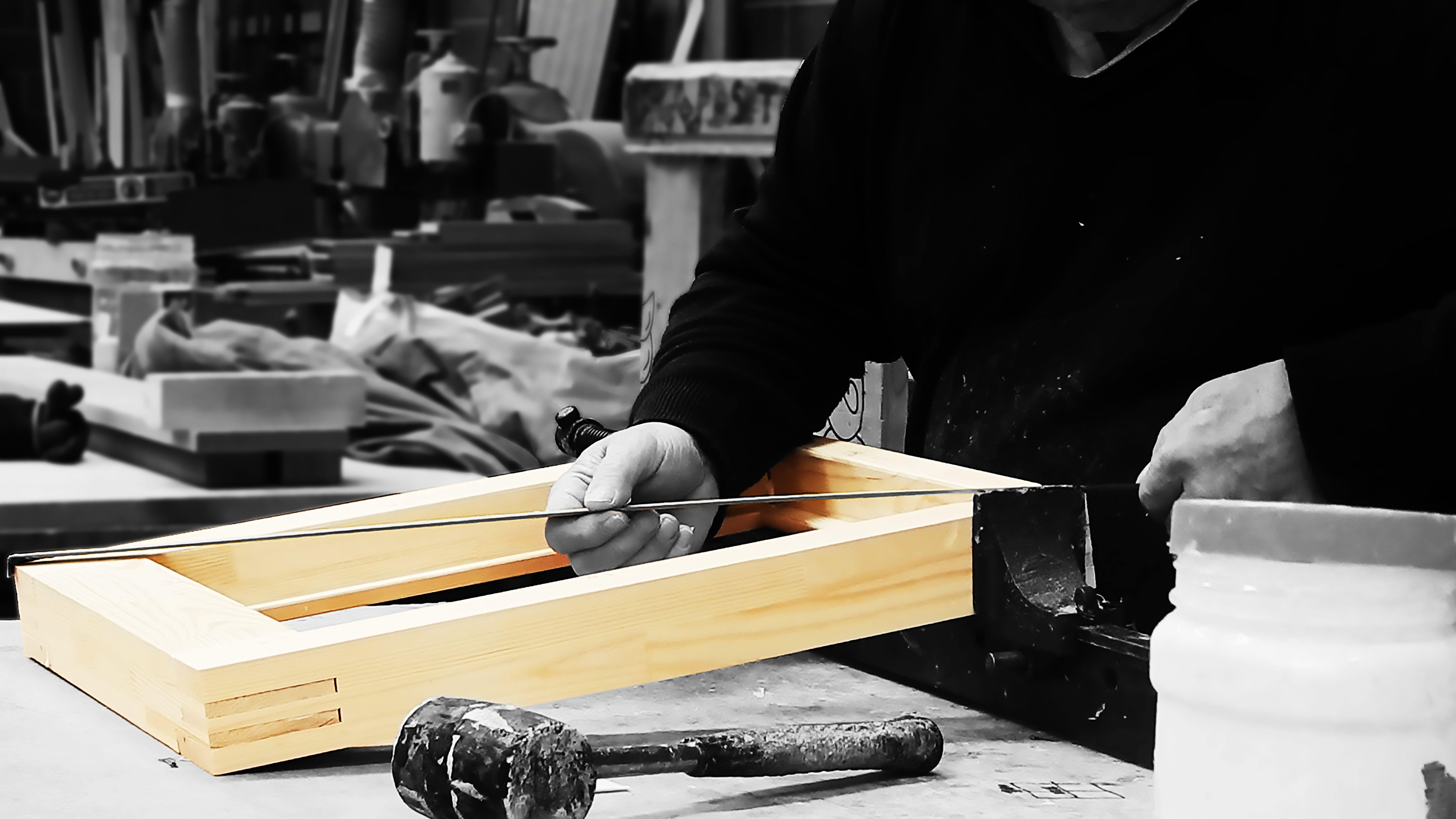 Factory shots of our amazing team of joiners manufacturing PDS high quality timber doors and windows & Factory shots of our amazing team of joiners manufacturing PDS high ...