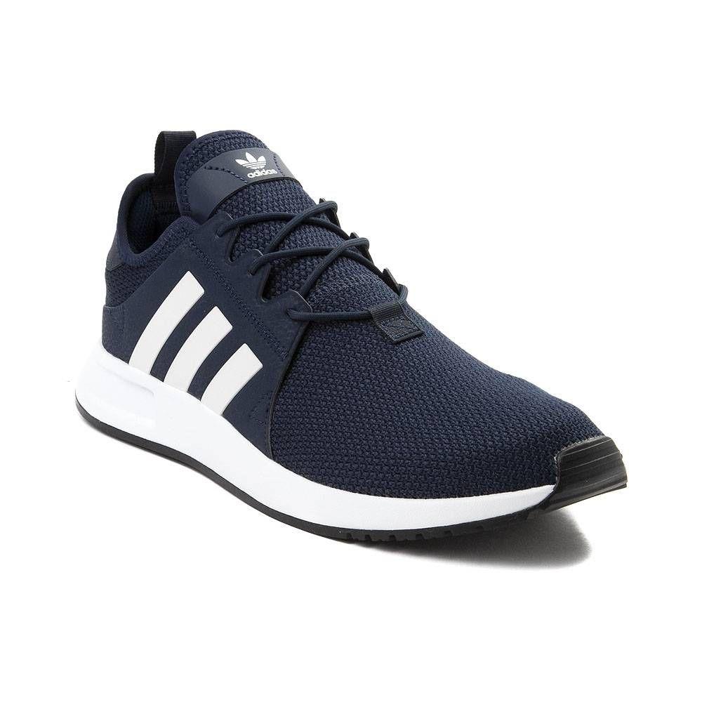 new arrival 17378 f5c1d Mens adidas XPLR Athletic Shoe - NavyWhite - 436590