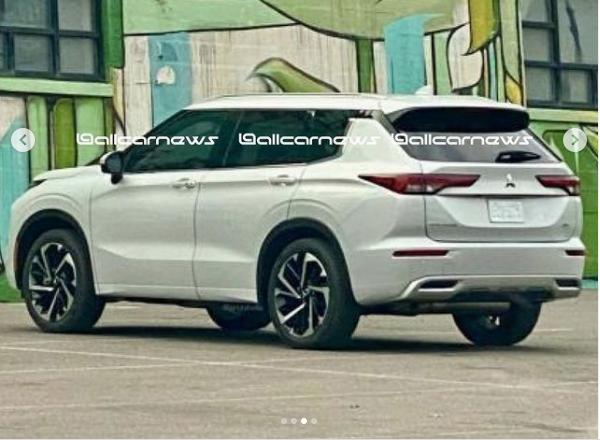 2022 Mitsubishi Outlander Looks Edgier Will Arrive Early Next Year Mitsubishi Outlander Mitsubishi Suv Mitsubishi
