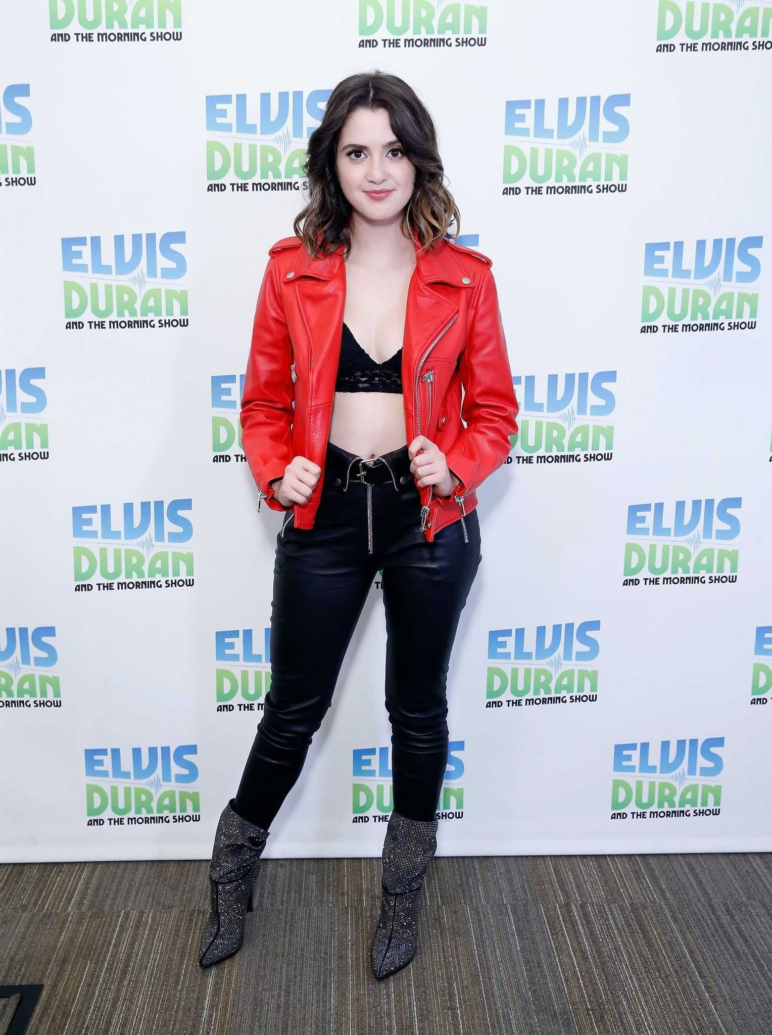 Laura Marano at the Elvis Duran Z100 Morning Show in NYC