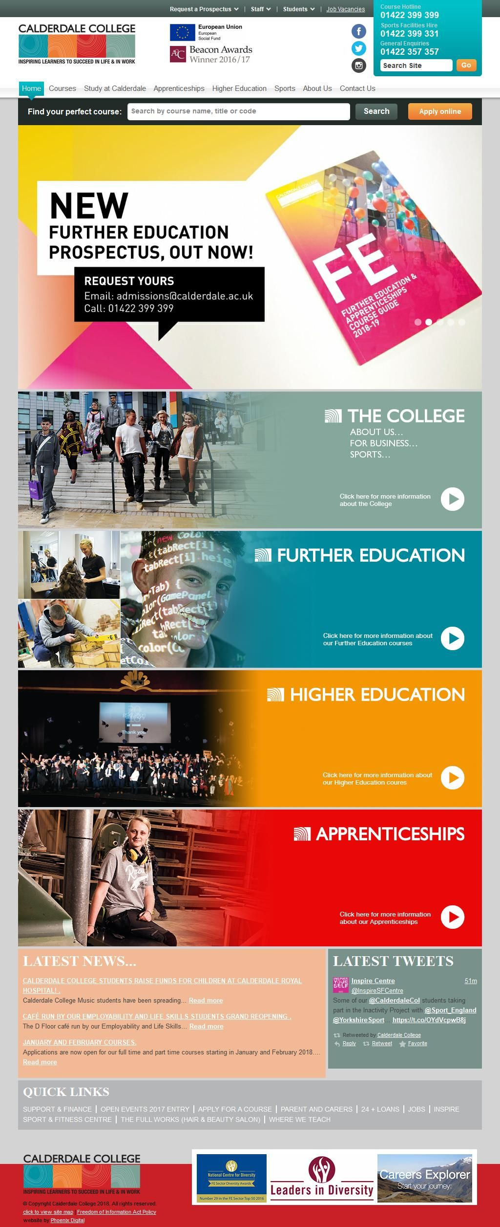 Calderdale College Schools & Colleges Further Education