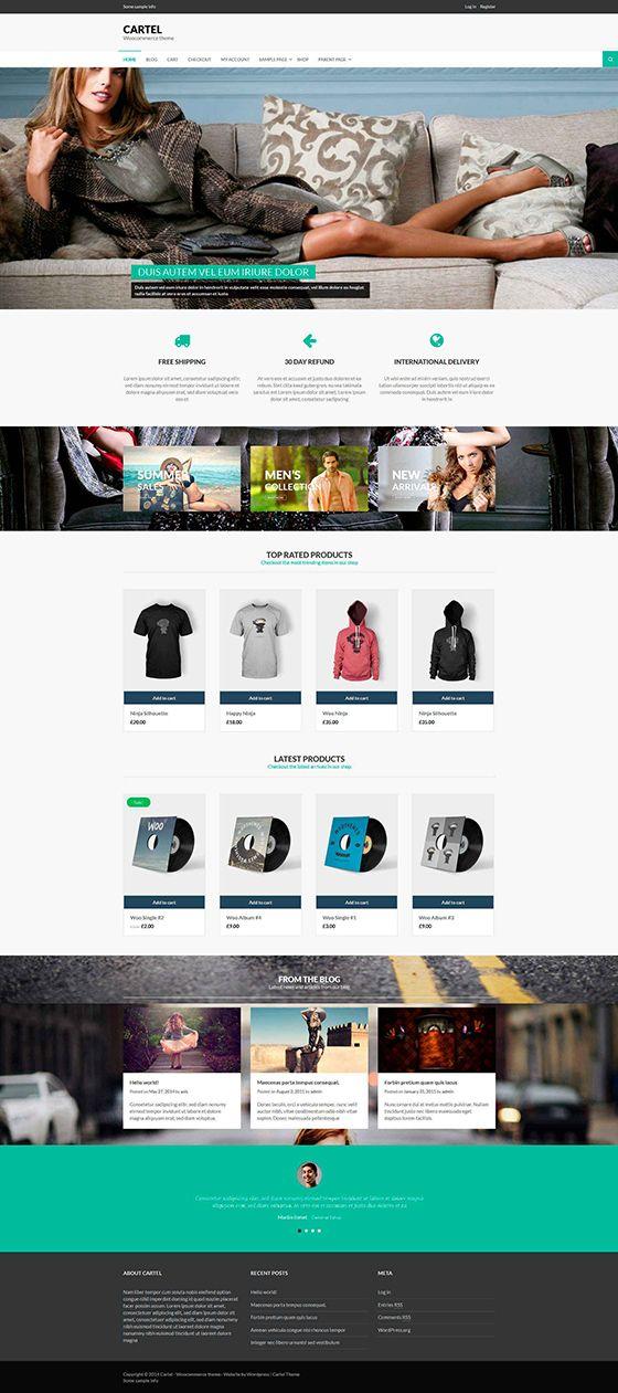 Plantillas para crear paginas web mediante Wordpress | Página ...