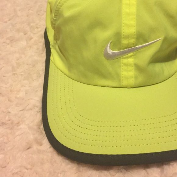 52226b065d1 Adjustable Nike Running Hat Bright Neon yellow Nike running hat for sale.  Retails for around  28 after tax. Price is firm. Trade offers will be  ignored!