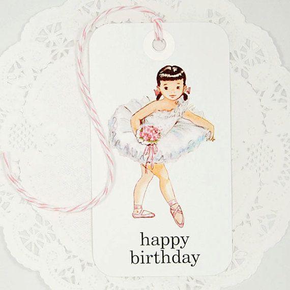 Открытки с днем рождения для балерины, статусы