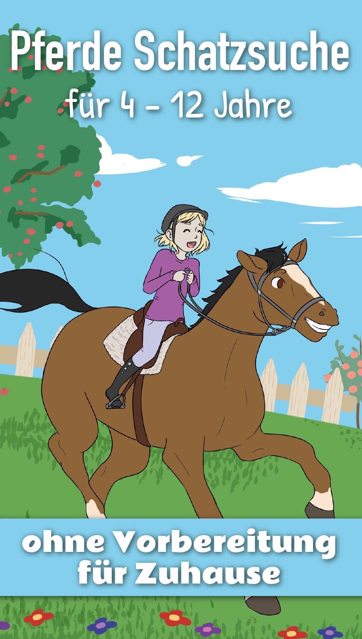 Pferde Schatzsuche für 4 – 12 Jahre: OHNE VORBEREITUNG