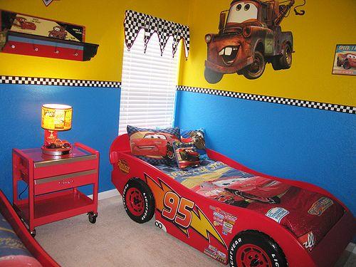 Disney Cars Themed Bedroom Cars Bedroom Decor Disney Cars