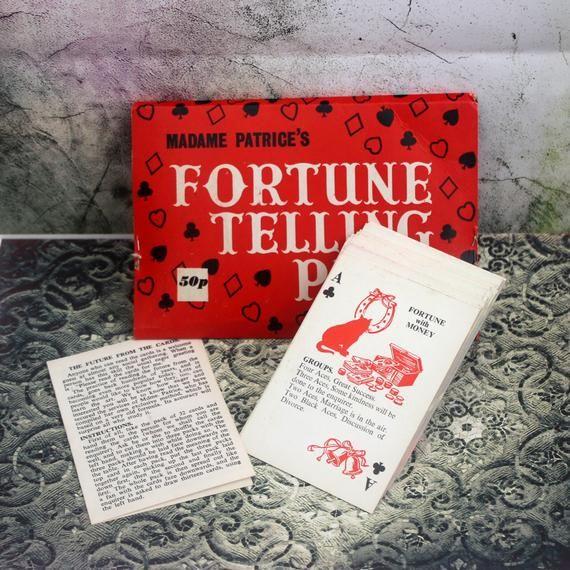 Photo of 1970年代に占パックマダムパトリス-. マダムパトリス-. Fortuneてくると思われます。 運命です。 占います。 ヴィンテージFortuneてくると思われます。