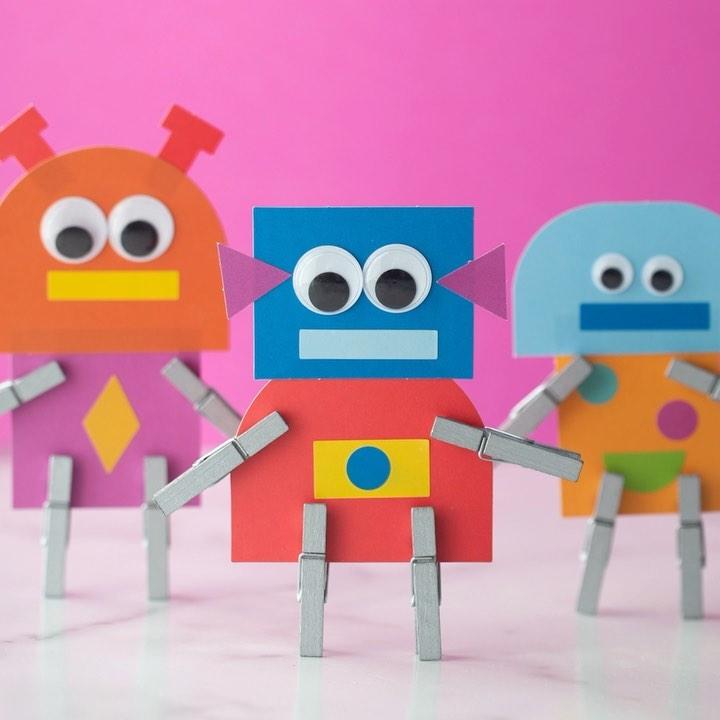 Instagram In 2021 Robot Clothes Pins Kids