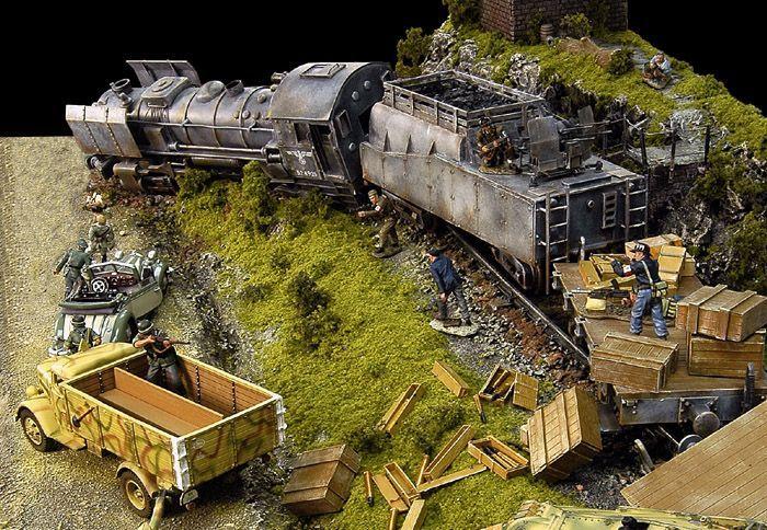 Diorama -Hijack! | Story | Diorama, Military diorama, Model