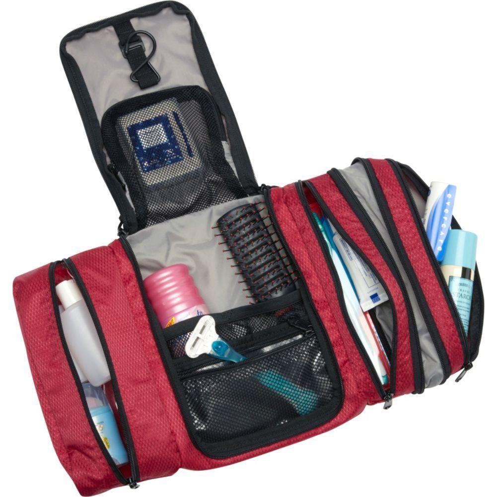 2b9fb546dd Amazon.com  eBags Pack-it-Flat Toiletry Kit (Aquamarine)  Clothing ...
