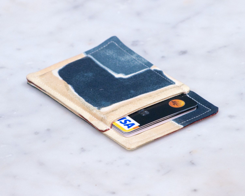 Minimalist wallet - Credit card wallet - Slim business card holder ...