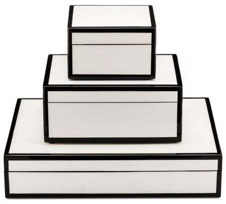 White Black Stacking Pc Bo Home Accessories Lille A