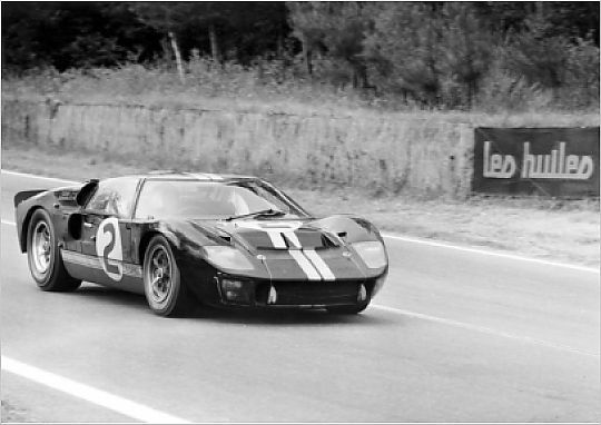 1966 Le Mans 24 Hours Le Mans France 22nd June 1966 Moment Of Victory For Fords The 7 Litre Ford Gt40 Of Bruce