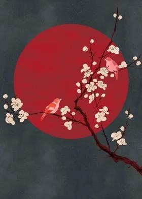 Asian style figurative art