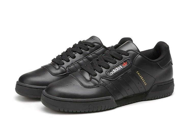 24c14e6cc Adidas Yeezy Powerphase Calabasas Size 14 Mens New Triple Black CG6420   adidas  AthleticSneakers