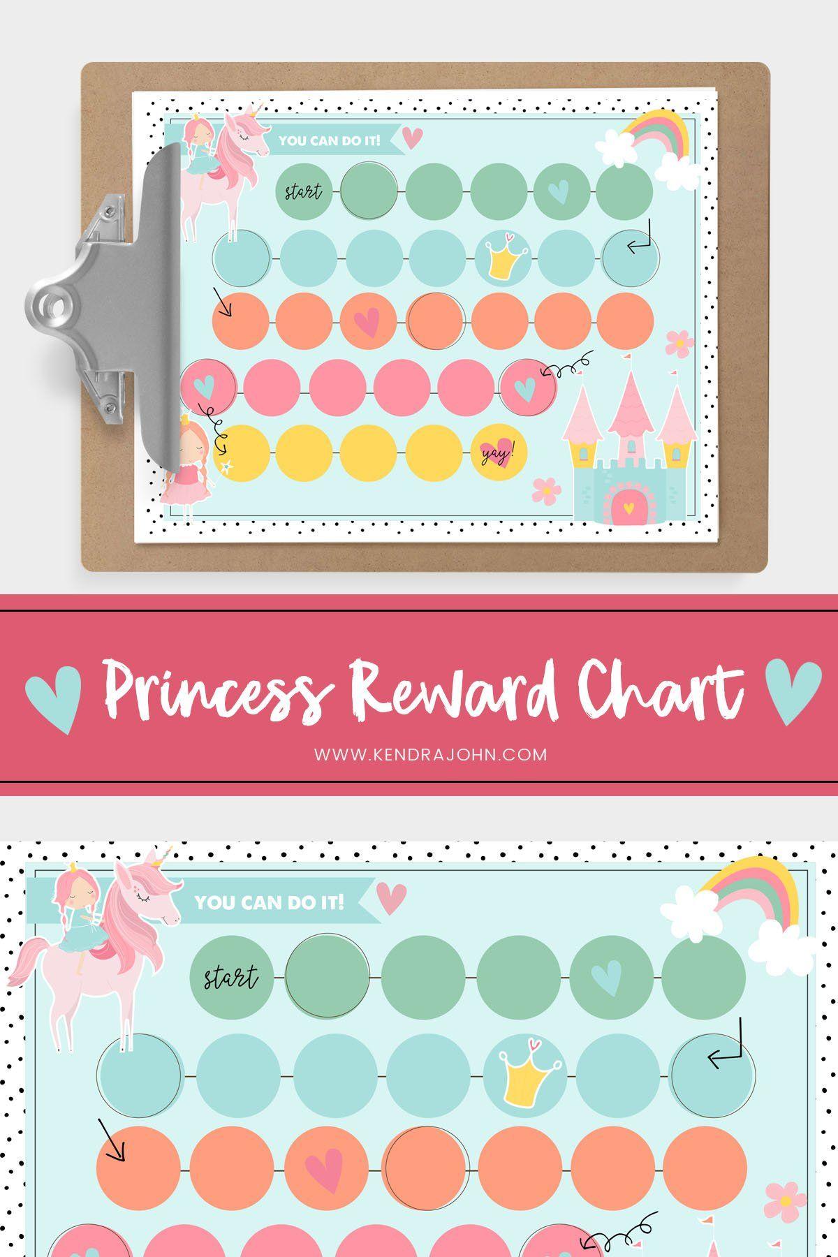 Princess And Unicorn Chart
