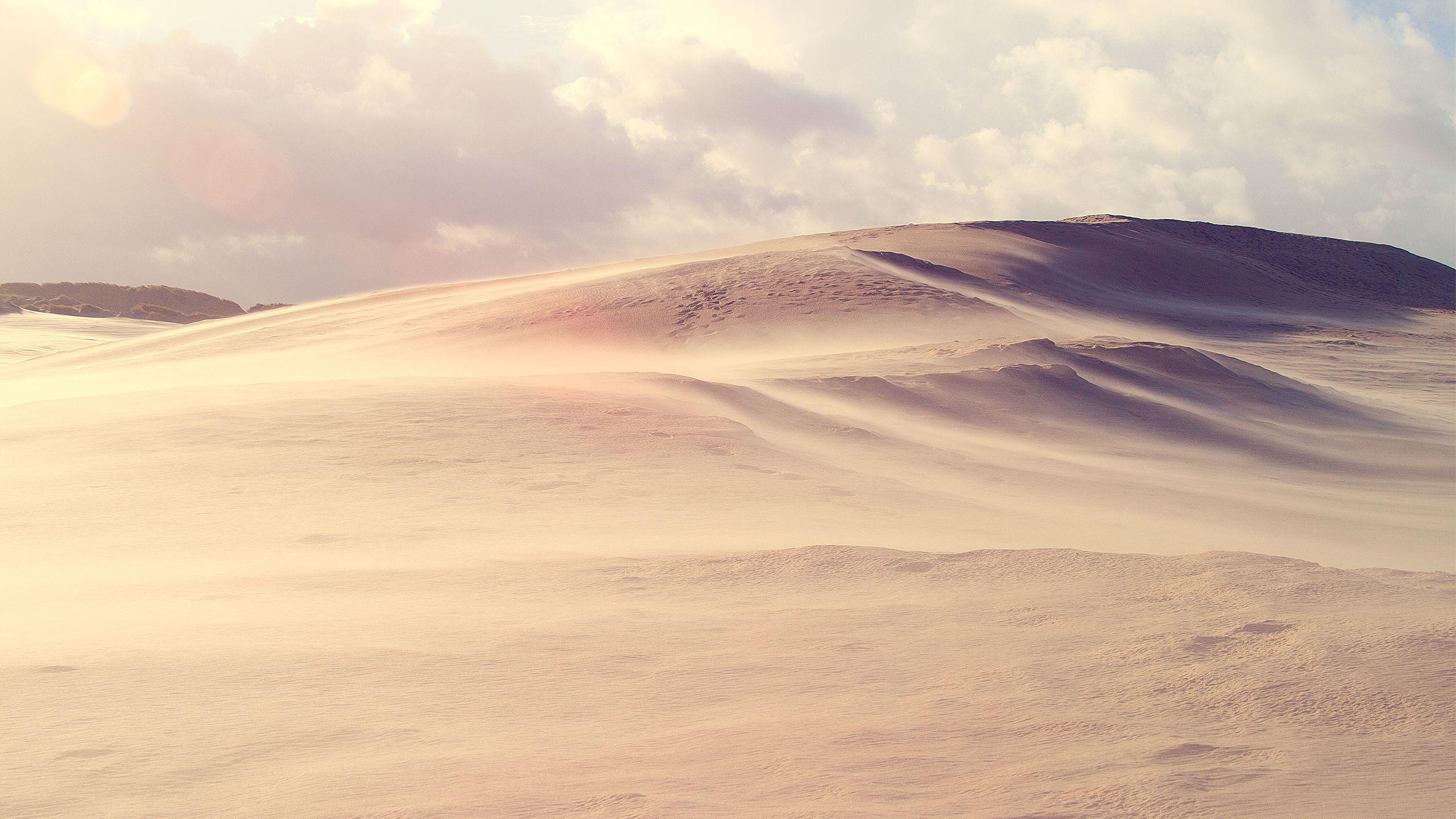 2560x1440 Desert Landscape Desktop Pc And Mac Wallpaper Desert Pictures Landscape Photos Landscape Wallpaper
