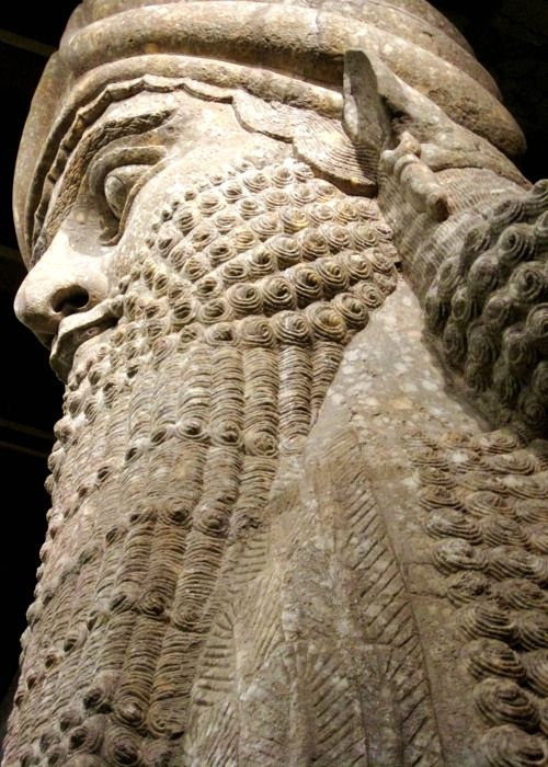 The human-headed Lamassu of the city of Khorsabad (Dur-Sharrukin), the capital of the Assyrian Empire. The Oriental Institute Museum of the University of Chicago, Chicago, IL.