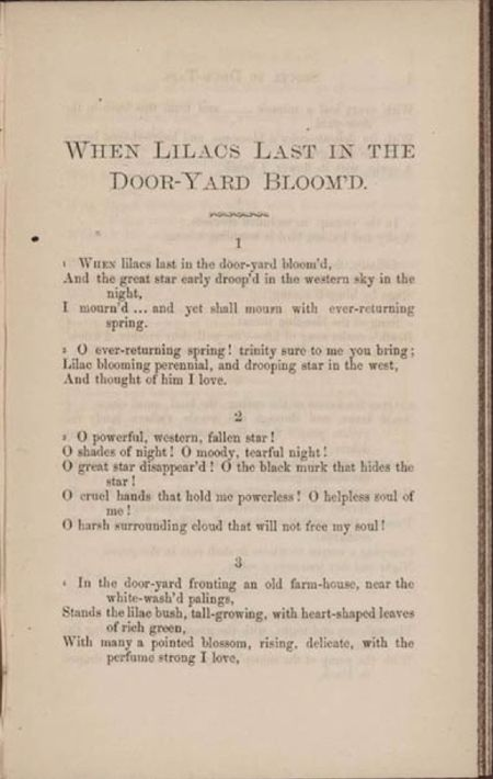 Walt Whitman's poems about Lincoln | History...teach your children ...