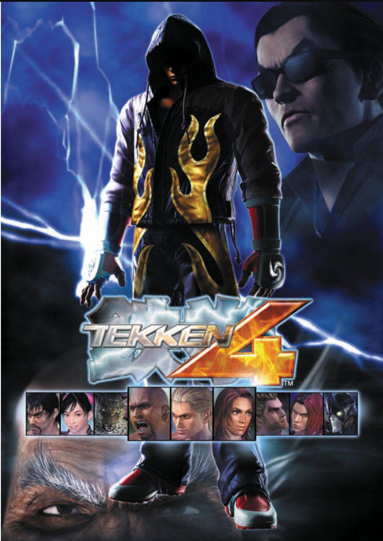 Tekken 4 Tekken 4 Jin Kazama Bandai Namco Entertainment