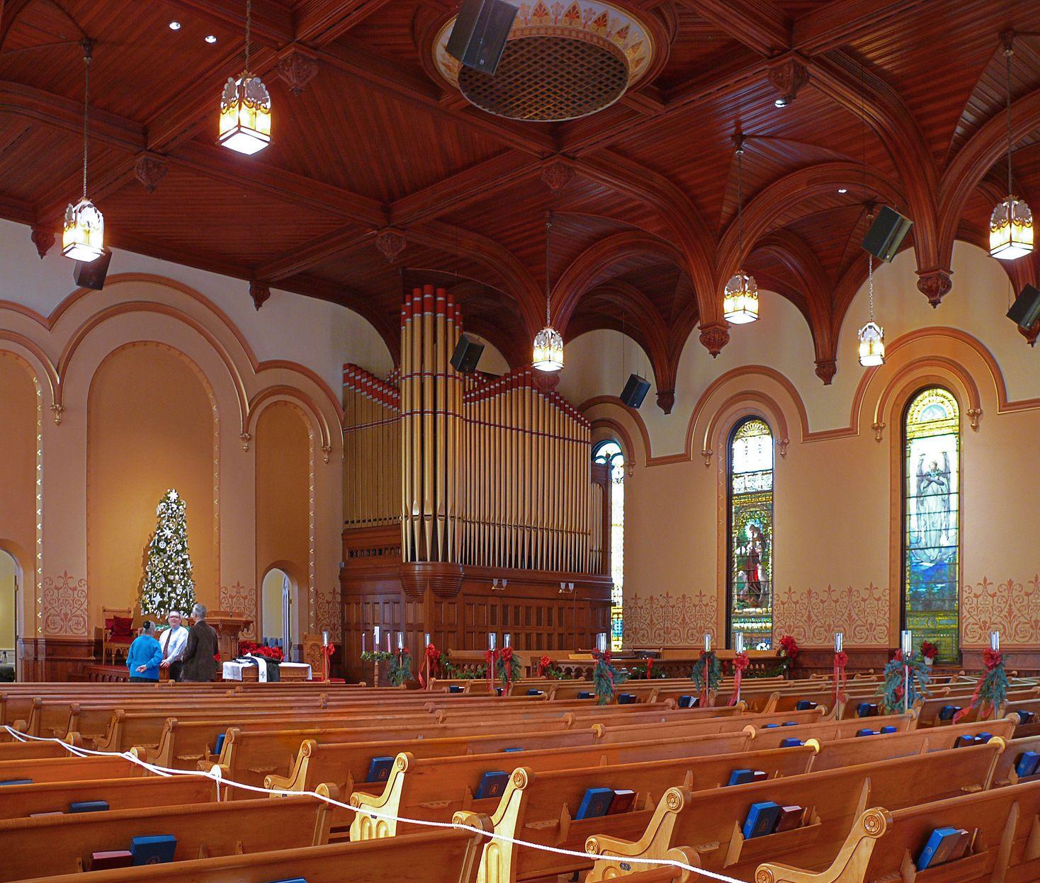 Presbyterian Church Interiors