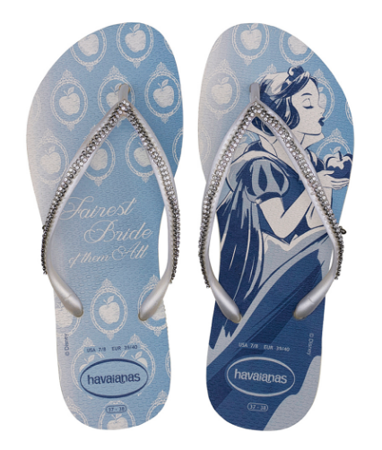 d4a2917e31c2 Princess Inspired Bridal Flip Flops For The Disney Bride Looking For Comfort