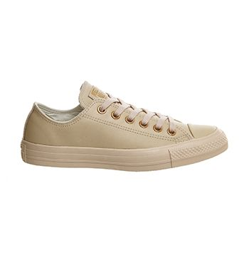 Pastel Rose Tan Gold Exclusive Converse All Star Low Leather From Office Co