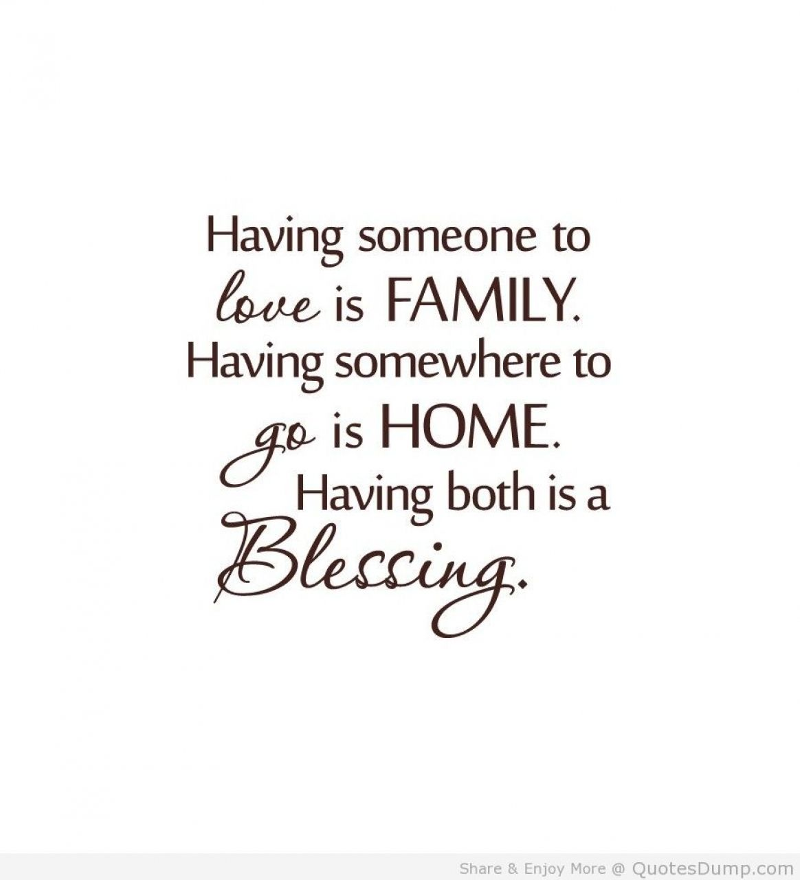 Cute Family Quote