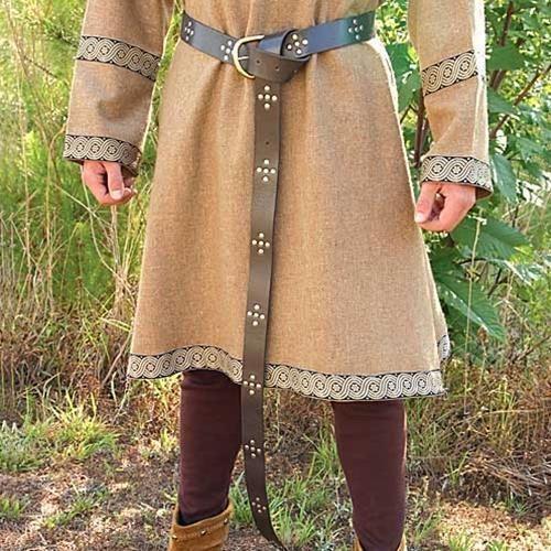 7957fda0 Medieval Renaissance Leather Medieval Long Belt | Renaissance ...