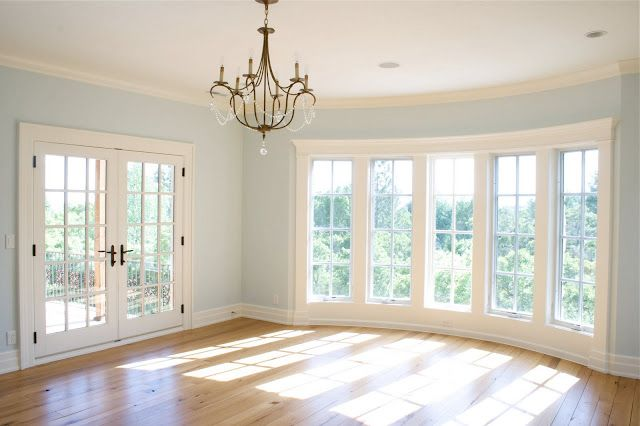 french doors, floor to ceiling windows love this blue for my ...