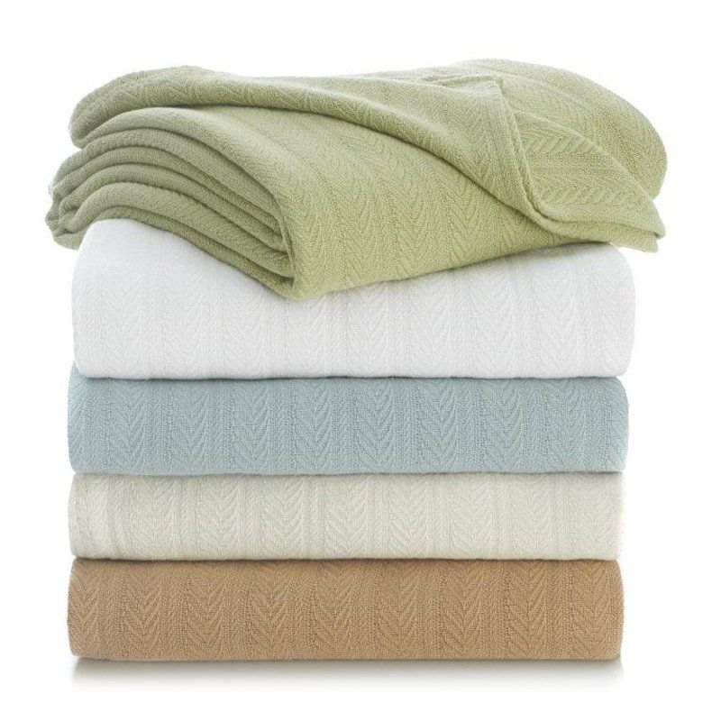 Have to have it. Vellux Cotton Blanket - $47.42 @hayneedle