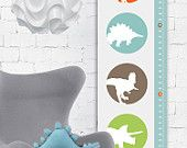 Raaawr - Dinosaurs Modern Growth/ Height Chart #pinparty