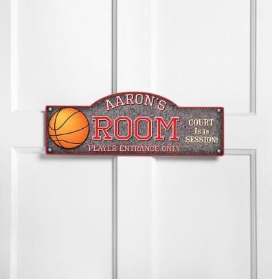 boys basketball room sign ring bearer sign  kids room