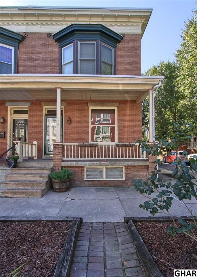 Beautiful end unit townhome in Olde Uptown. Large open living room, dining room, and eat-in kitchen. Private backyard with a large deck area. Also a front porch and balcony. 3 bedrooms on 2nd floor. Large bathroom with washer / dryer, tub, and separate shower. Ready to move into.