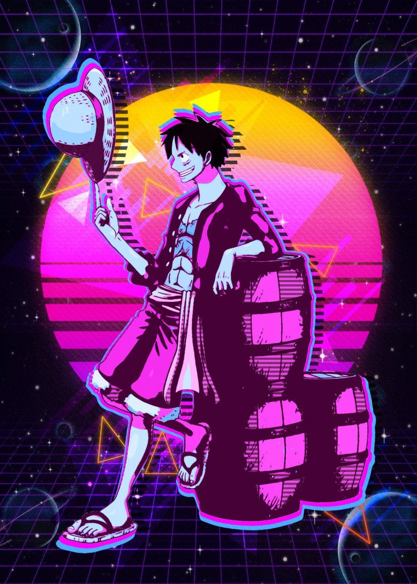 One Piece Poster Print By The Master Displate In 2021 Manga Anime One Piece One Piece Wallpaper Iphone One Piece Anime