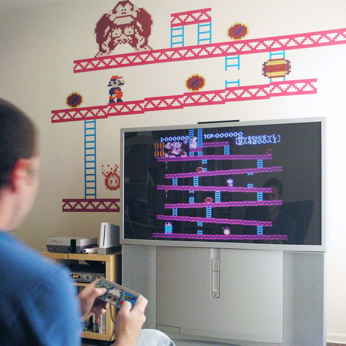 Fab com donkey kong re stik wall decals by blik surface graphics