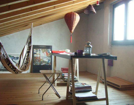 Workspace Inspiration: Paola's Attic Studio