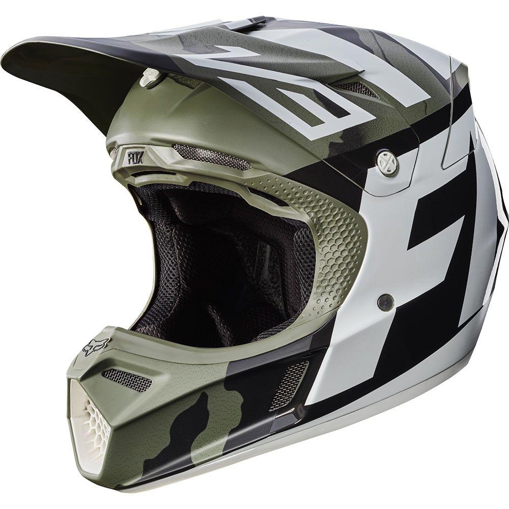 Fox 2017 V3 Creo Camo Helmet